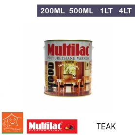 Multilac Polyurethane Varnish  - Teak