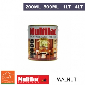 Multilac Polyurethane Varnish Walnut
