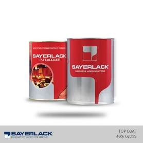 Sayerlack PU HD System Top Coat Clear - 40% Gloss