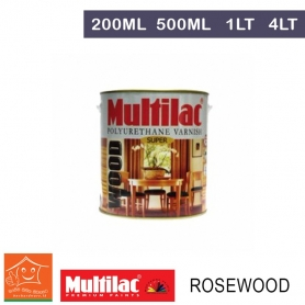 Multilac Polyurethane Varnish - Rosewood