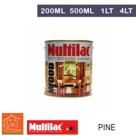 Multilac Polyurethane Varnish - Pine