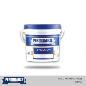 Permoglaze Road Making Paint Yellow