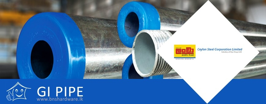 Lanwa GI Pipes - bnshardware.lk, Lanwa GI Pipes price in Sri Lanka
