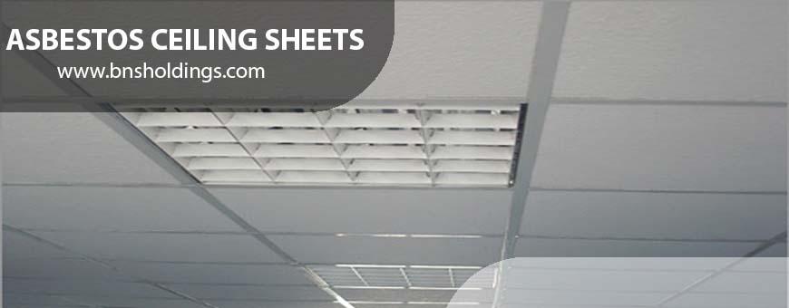 Asbestos Ceiling sheets