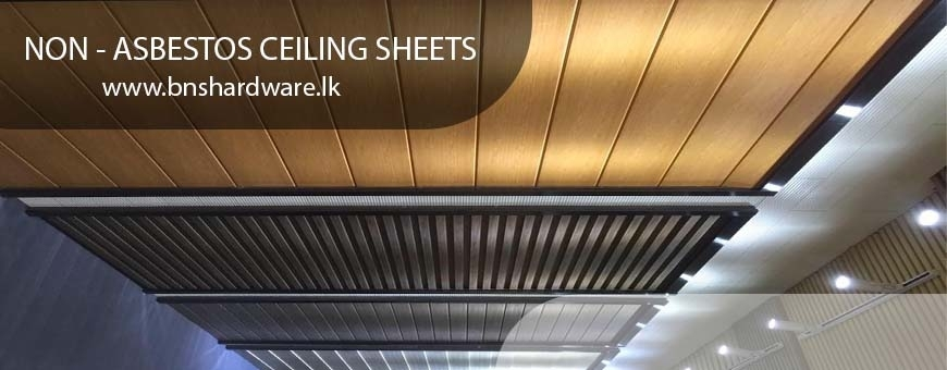 Non - Asbestos Ceiling Sheets