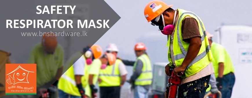 Safety Respirator Mask-bnshardware.lk