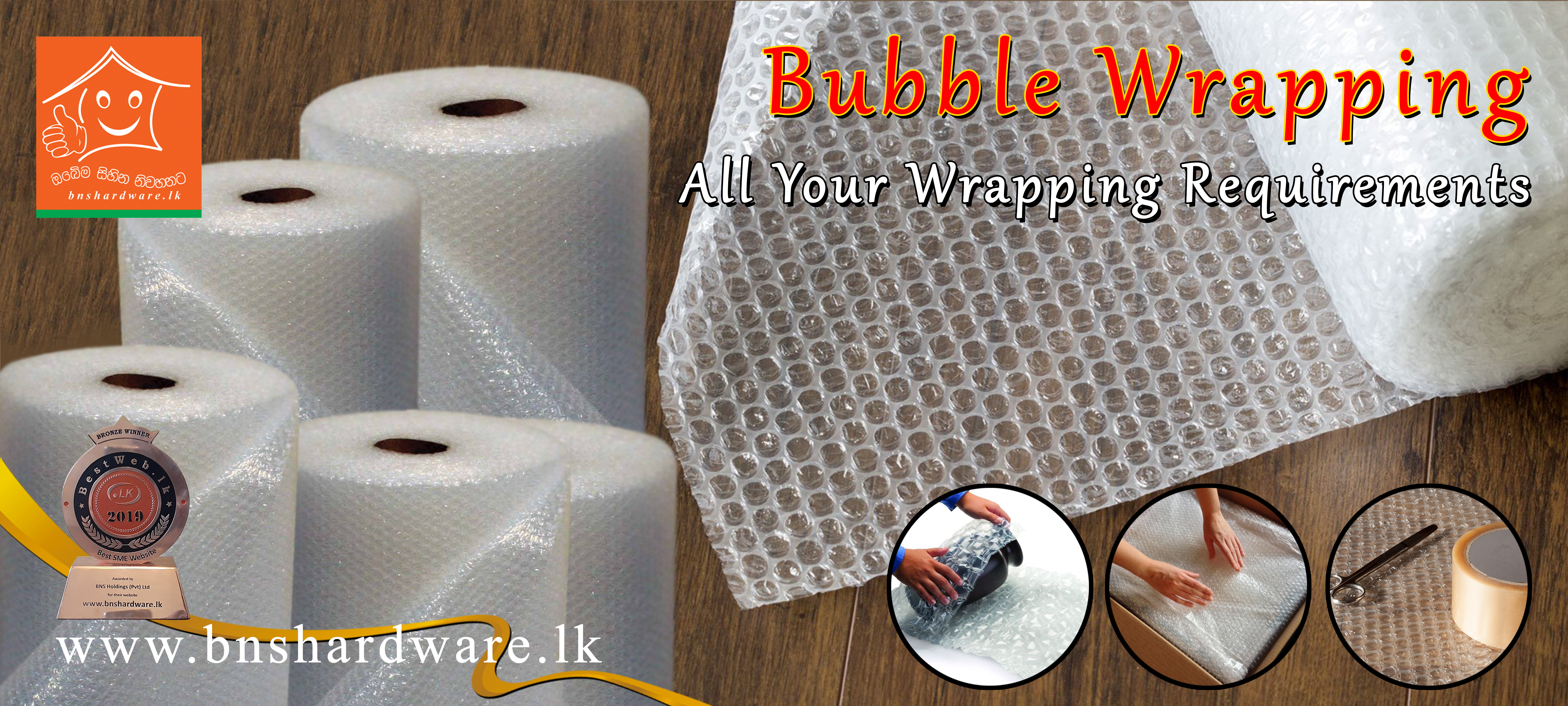 Bubble Wrapping
