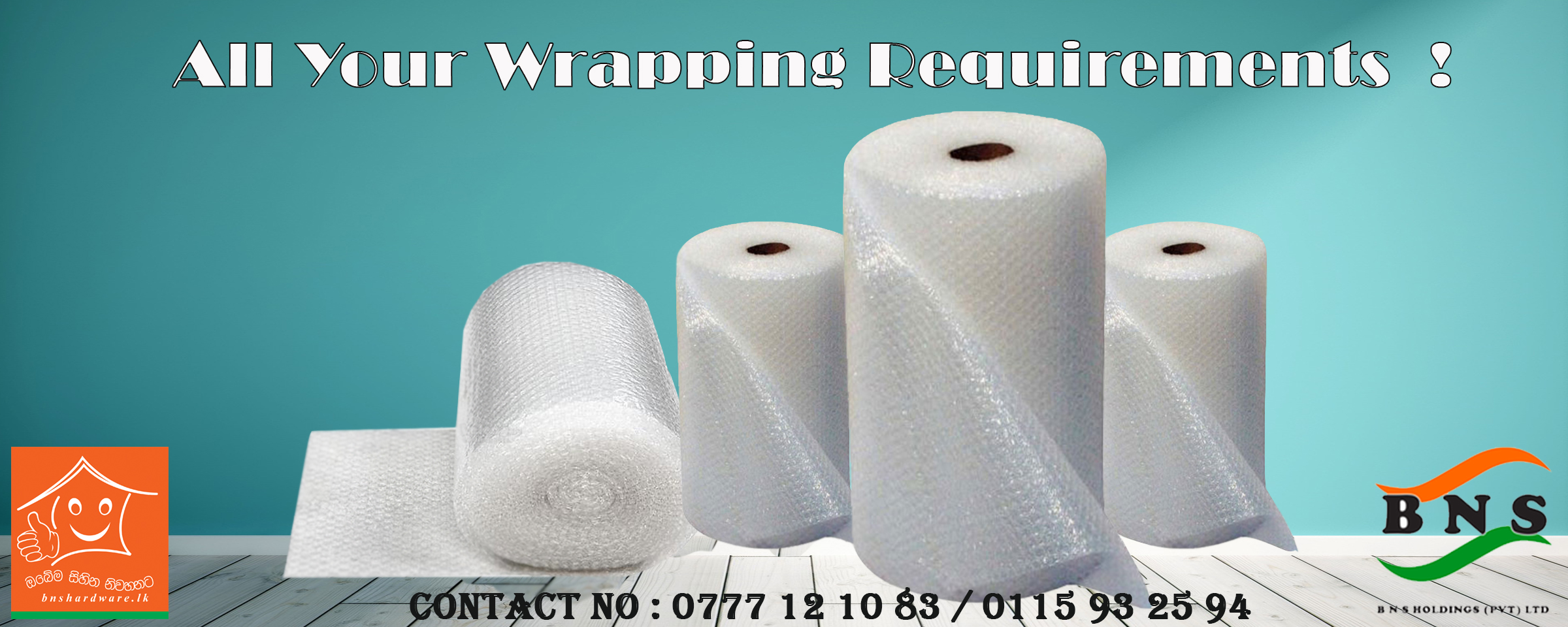 Wrapping Items